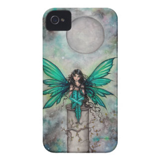 Little Green Fae Gothic Fairy Fantasy Art iPhone 4 Cover