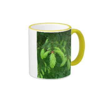 Little Green Fingers. Ringer Coffee Mug
