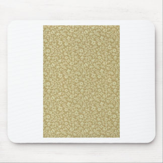 Little Green Flowers Mouse Pad