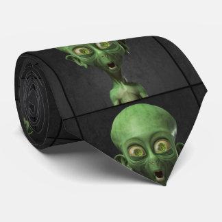 Little Green Man Tie