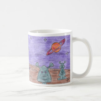 LITTLE GREEN MEN mug