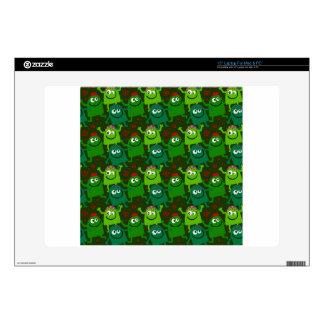 Little Green Men Skins For Laptops