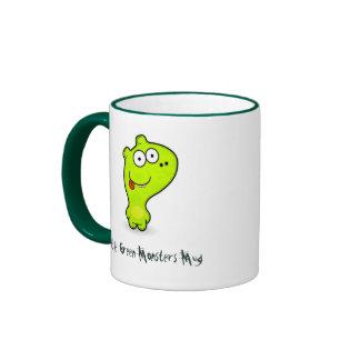 Little Green Monster Mug