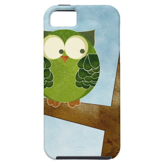 Little Green Owl iPhone SE/5/5s Case
