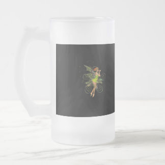 Little Green Pixie Frosted Beer Mug