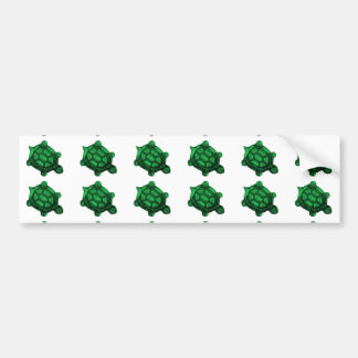 Little Green Turtle March Bumper Sticker