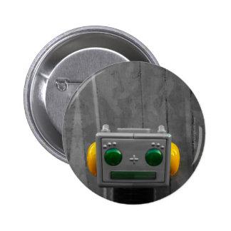 Little Grey Robot | Button Designs