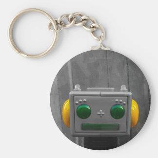 Little Grey Robot | Keychain Designs