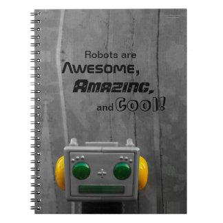 Little Grey Robot | Notebook