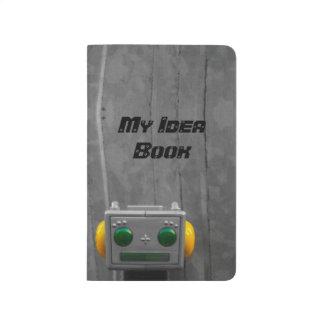 Little Grey Robot | Pocket Journal