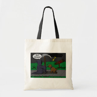 Little Grim and Dog Tote Bags