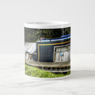 Little Guard Dog on Narrowboat jumbo mug