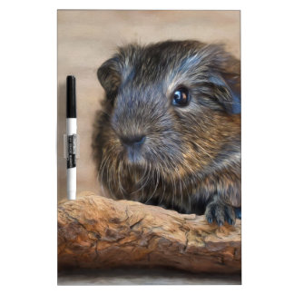 Little Guinea Pig Painting Dry Erase Board