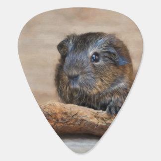 Little Guinea Pig Painting Guitar Pick