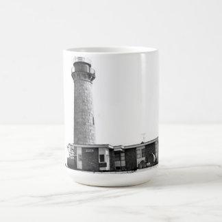 Little Gull Island Lighthouse Classic White Coffee Mug