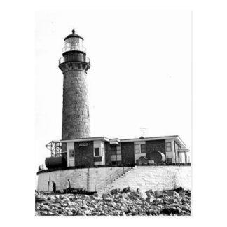Little Gull Island Lighthouse Postcard