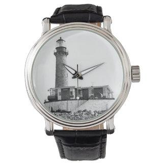 Little Gull Island Lighthouse Wristwatch