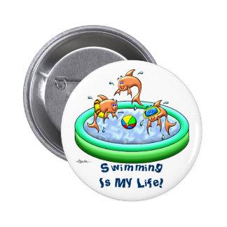Little Guppies Pinback Buttons