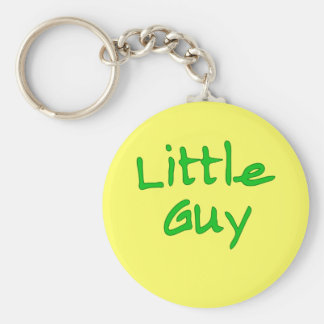 Little Guy Matching Big Guy Products Basic Round Button Keychain