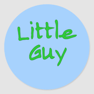 Little Guy Matching Big Guy Products Round Sticker