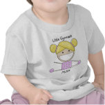 Little Gymnast Girl-Shape Up Shirt