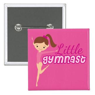 Little Gymnast (pink) Pinback Button