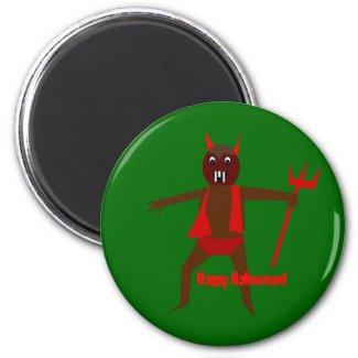 Little Halloween Devil Magnet magnet