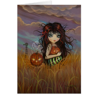 LIttle Halloween Fairy Greeting Card