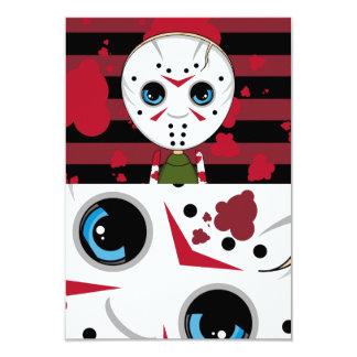LIttle Halloween Serial Killer RSVP Card