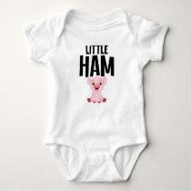 Little Ham Cute Pig Piglet Baby Bodysuit