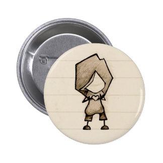Little Hand Heart Pinback Button