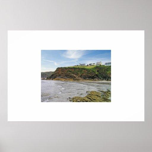 little haven; pembrokeshire coast; Wales; Poster