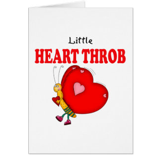 Little Heart Throb Butterfly Card