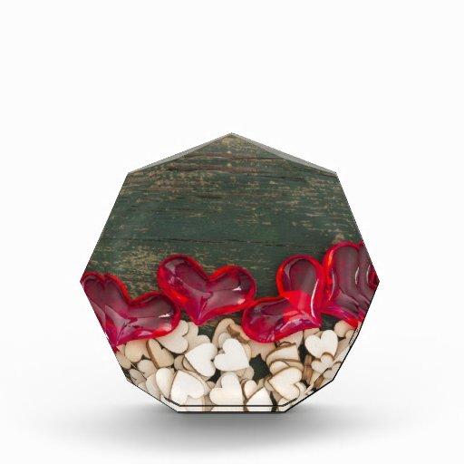 little hearts acrylic award
