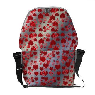 Little Hearts Courier Bag