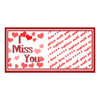 Little Hearts -  I Miss You Card