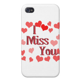 Little Hearts - I Miss You iPhone 4 Covers