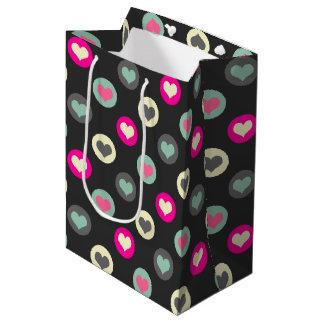 Little hearts medium gift bag