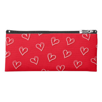 Little hearts pencil case