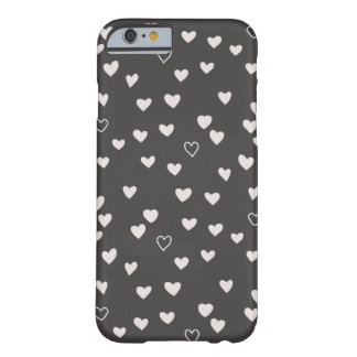 Little Hearts Phone Case - Ivory