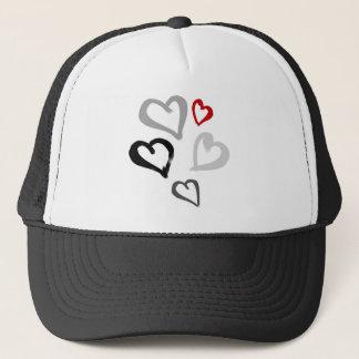 Little hearts trucker hat