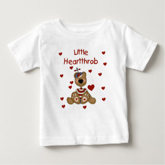 Little Heartthrob Boy Bear Baby T-Shirt