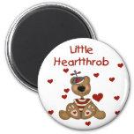 Little Heartthrob Boy Bear Fridge Magnet