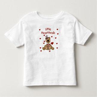 Little Heartthrob Boy Bear Toddler T-shirt