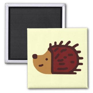 Little Hedgehog! 2 Inch Square Magnet