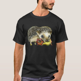 Little hedgehog and apple T-Shirt