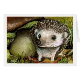 Little hedgehog card