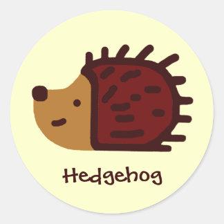 Little Hedgehog! Classic Round Sticker