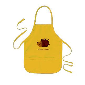Little Hedgehog Paint Smock! Kids' Apron