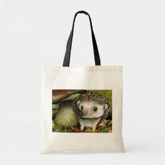 Little hedgehog tote bag